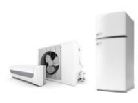 Check efficiency of fridge and airconditioning