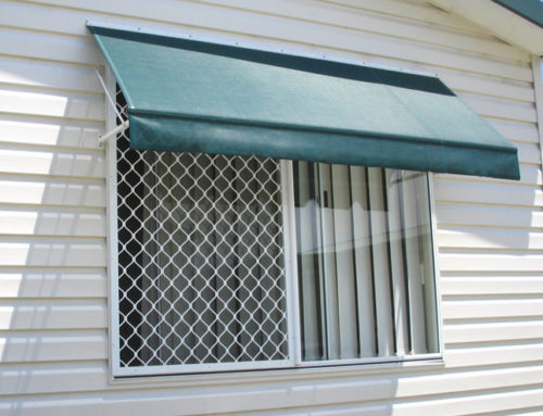 Undercover Blinds Canopy Exterior Blind Green Wire