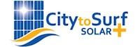 city to surf solar logo