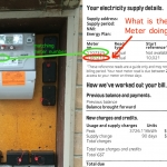 Household paying for someone else's electricity bill