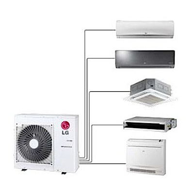 multi-split-air conditioner-fixed-head
